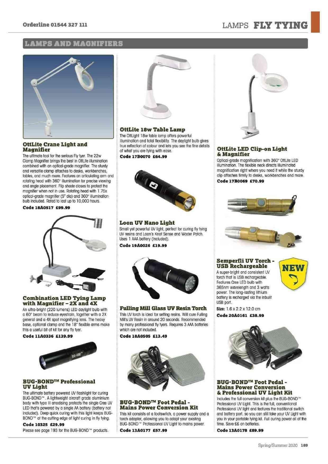 Bug Bond Professional UV Light Mains Footswitch Conversion
