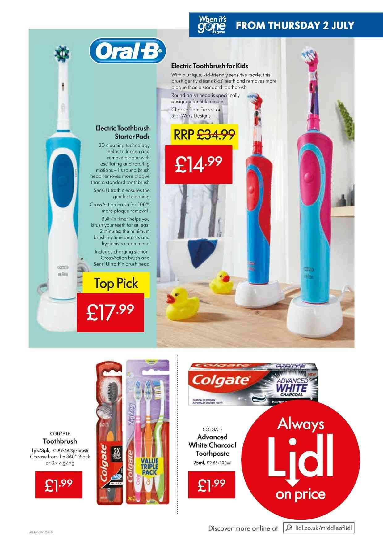 Electric Toothbrush offers in Manchester: prices in store