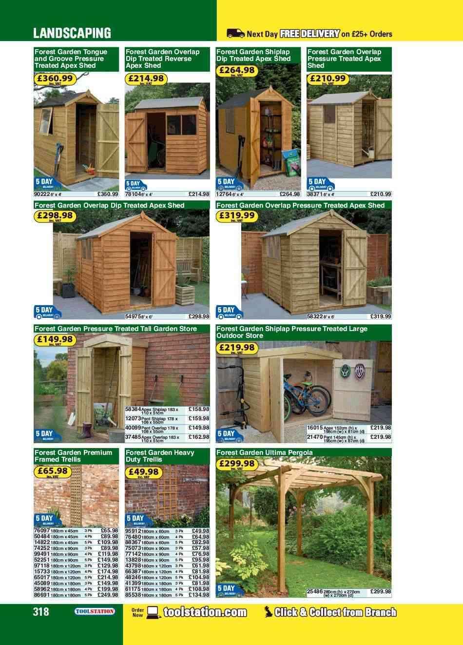 Sheds Offers Prices In Store Catalogues And Store Opening Times